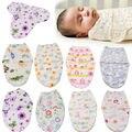 2016 2016 de Recém-nascidos Parisarc Swaddle Infantil Macio Morno de Algodão Dos Desenhos Animados Impresso Criança Cobertor Do Bebê Envoltório Do Bebê Saco de Dormir Envelope