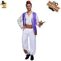 Adult Aladdin Prince Costume Halloween Cosplay for Men Costume