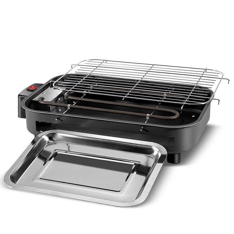 Grils électriques multifonctions maison cuisson casserole sans fumée Teppanyaki Barbecue électrique grils 220 V intérieur BBQ machine
