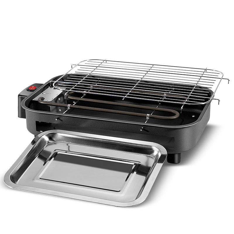 Multi function Electric Grills Home Baking Pan Smokeless Teppanyaki Barbecue Electric Griddles 220V Indoor BBQ machine Electric Grills & Electric Griddles    - AliExpress