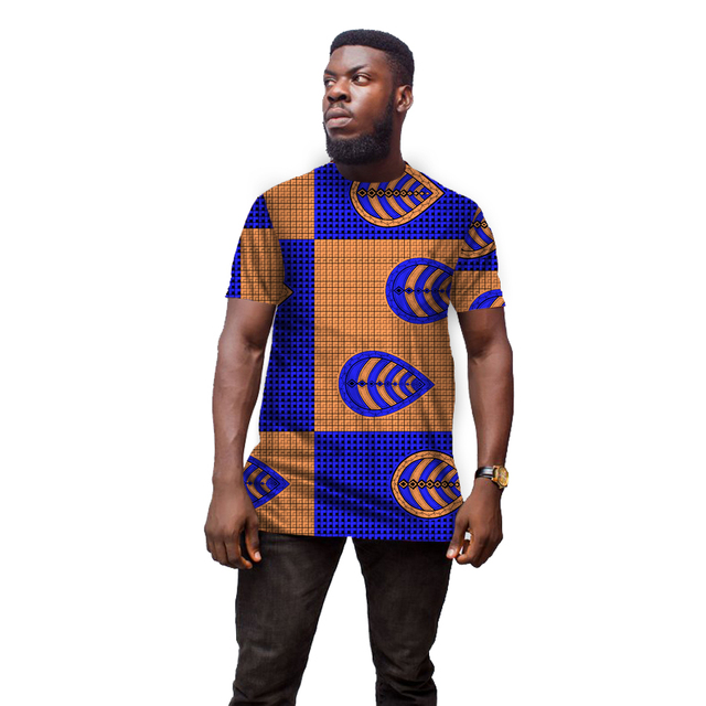 7648078b2a8d Conventional Dashiki Man's Dress Fashion Print Short Sleeve Tops Men T  shirt Africa Style Design Festive Costume African Clothes