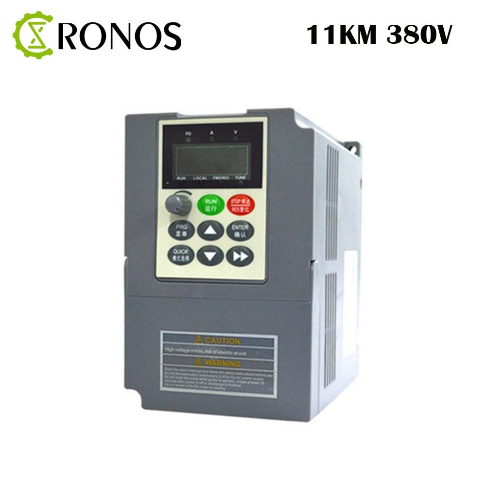цена на 11KW/380V/25A 3 Phase Frequency Inverter-Vector Control 11KW Frequency inverter/ Vfd 11KW Inverter