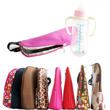 Baby Thermal Insulation Bags for Feeding Bottle Warmer 300-350ML Hang Stroller High Quality