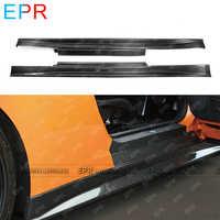 Für Nissan R35 GTR Carbon Side Rock Körper Kit Auto Styling Auto Tuning Teil Für GTR R35 Zele Seite rock
