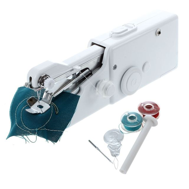 40 Mini Portable Handheld Sewing Machines Stitch Sew Needlework Magnificent Portable Hand Sewing Machine