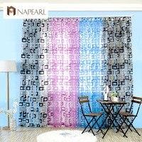 Organza cortinas prontas painéis de cortina sheer tulle curto cortina cortinas para sala de estar moderna praça design simples