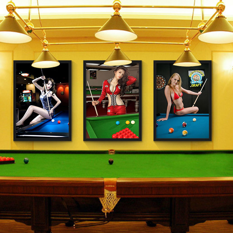 Luxury Billiard Wall Art Composition - Art & Wall Decor - hecatalog.info