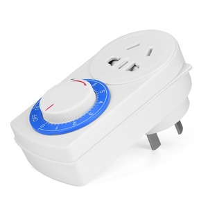 220V 10A Countdown Timer Socket Mechanical Timer Switch Socket Wall Outlet AU Plug 50Hz 2200W Tool Accessory