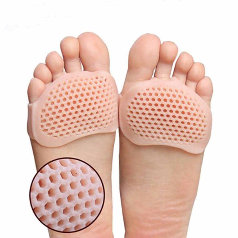 Silikon Yastıklı Ön Ayaklık Tabanlık yüksek topuk ayakkabı s Pad Jel Tabanlık Nefes Sağlık Ayakkabı Astarı yüksek topuk ayakkabı Ekle
