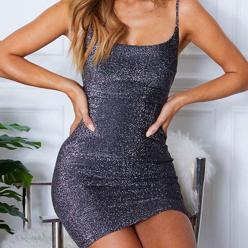 Пикантные спинки Vestido новинки для женщин Вечеринка Клубная одежда карандаш Горячая блестящее платье ремень Твердые платья