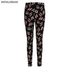 Alta qualidade sexy leggings mulheres 2016 Floral Impressão Leggings calças stretch fêmea divertimento do inverno Leggings de algodão macio com impresso(China (Mainland))
