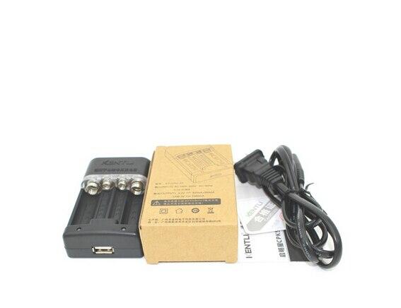 6 шт. KENTLI 3000mwh 1,5 в AA литий полимерная литиевая батарея с KENTLI AA зарядное устройство - 4