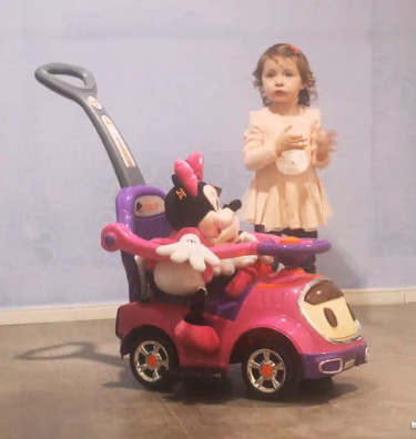 Children shilly-car baby yo car with music glide walker stroller pusher fence infant shining swing car mute flash belting leather music environmental quality children s toy car