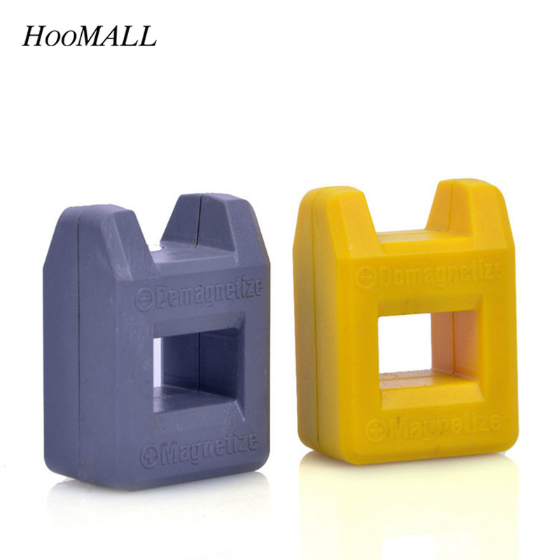 Hoomall Magnetizer Demagnetizer Tool Insulated Screwdriver Magnetic Pick Up Tool Screwdriver Quick Magnetic Degaussing Tools New
