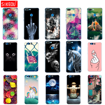 cover phone case for huawei honor 9 honor 9 lite soft tpu silicone back cover 360 full protective printing transparent coque Cat for honor 9 huawei honor 9 lite case full protection soft clear tpu silicone cases honor 9x crystal phone case honor 9 x cover