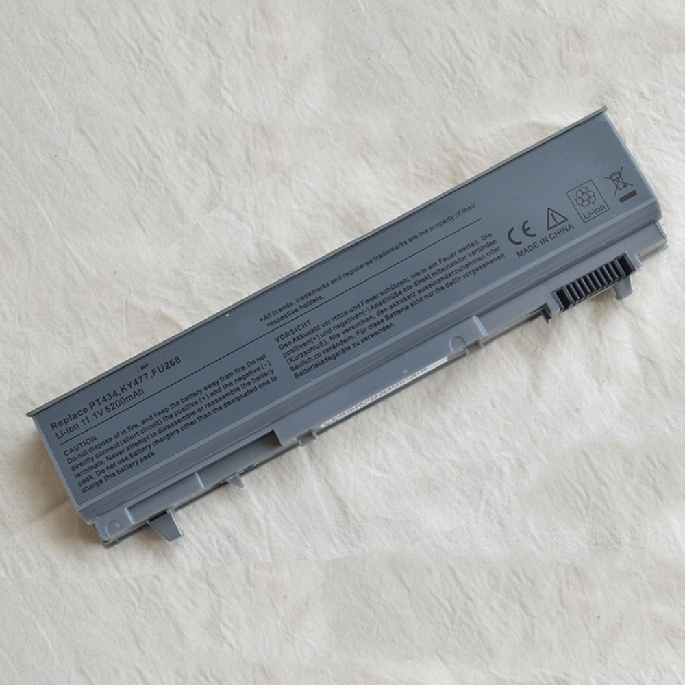 Laptop Battery For Dell Latitude E6400 E6500 E6510 M2400 M4400 M4500 E6410 E8400 312-0917 312-0215 GU715 C719R RG049 U844G TX283