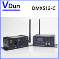 Оптовая DMX512 Беспроводной Передатчик Приемник 2 в 1 2.4 ГГц XLR DMX DJ Ретранслятора LED Освещение Сцены Контроллер ЖК-Дисплей