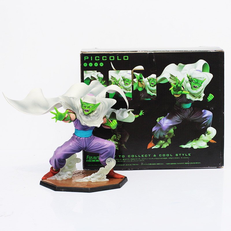 Free Shipping Anime Dragon Ball Z Piccolo PVC Action Figure Toy Doll For Child Collection Model Toy With Box 13cm free shipping anime dragon ball master roshi pvc action figure collection model toy 25cm orange new loose