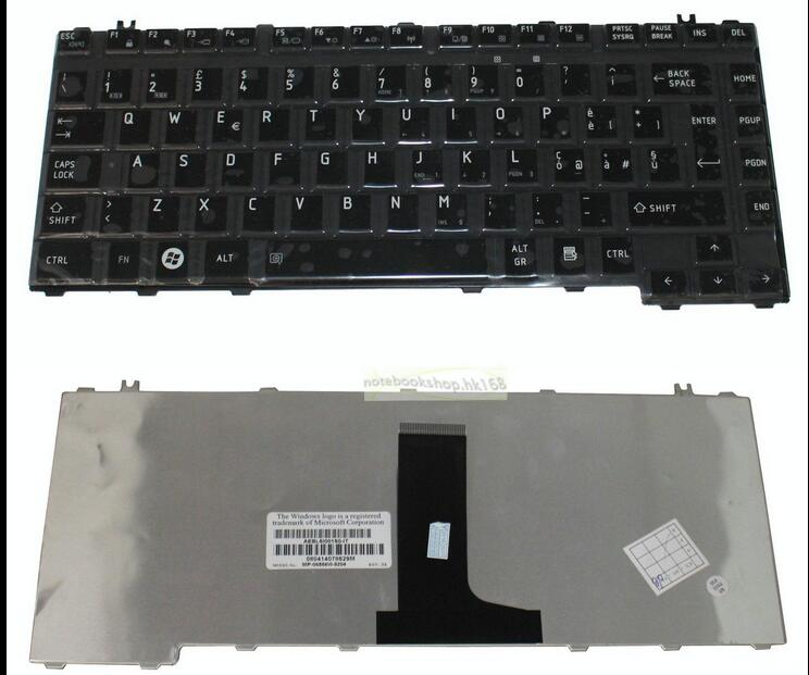 keyboard for Toshiba Equium A200 A210 A300D L300 U300