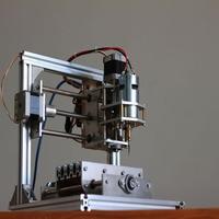 Diy CNC Engraving Machine Working Area 130 100 40mm PCB Milling Machine CNC Wood Carving Mini