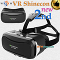 Brand New Shinecon VR 2.0 II 3D Glasses Virtual Reality Headset Google Cardboard Smartphone VR BOX Helmet For 4.7-6' MobilePhone