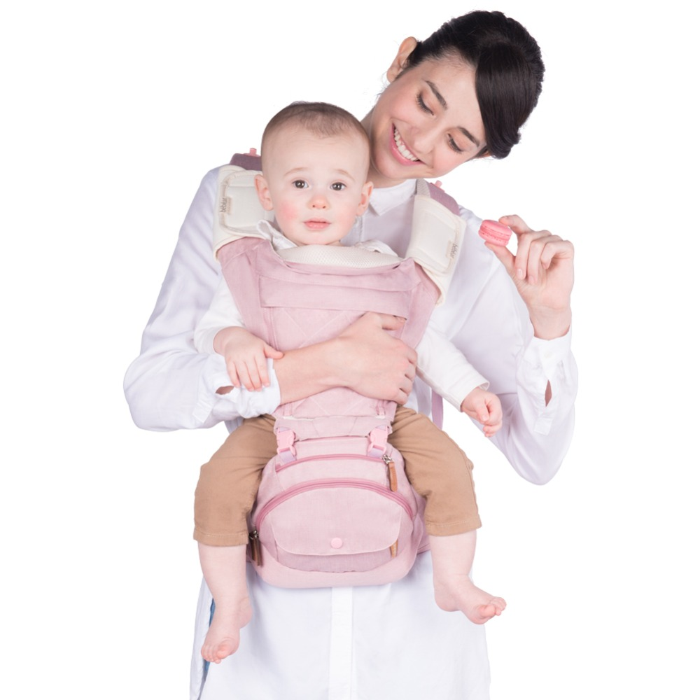 ФОТО Bebear 2017 New Fashion Baby Carrier Hipseat Baby Backpack Ergonomic Carrier 360 Multifunctional Baby Wrap Slings for Babies