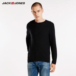 Image 2 - JackJones גברים של Slim Fit צמר סוודר מזדמן ארוך שרוול סוודר גברים של למעלה 218324521