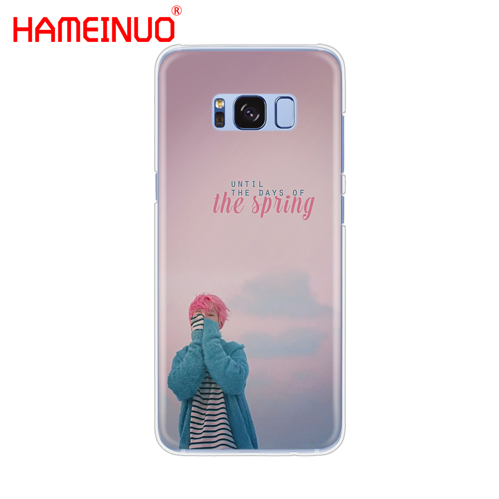 HAMEINUO BTS Bangtan Boys JIMIN cell phone case cover for Samsung Galaxy S9 S7 edge PLUS S8 S6 S5 S4 S3 MINI