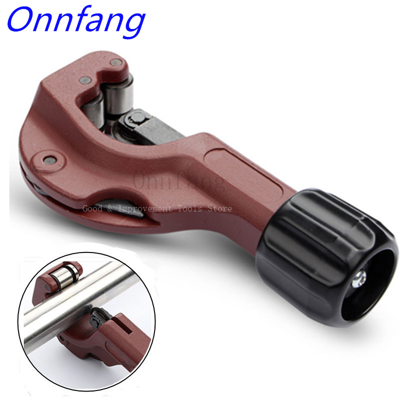 Onnfang 3-32mm Medium Tube Cutter For Copper Aluminum Alloy Stainless Steel Tube Shear Hobbing Circular Blades Hand Tools