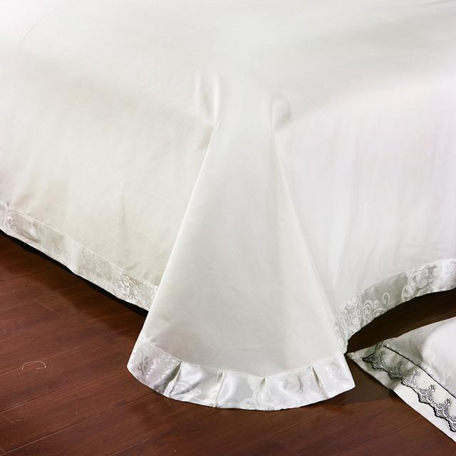 Jacquard Silk Cotton Luxury Bedding Set
