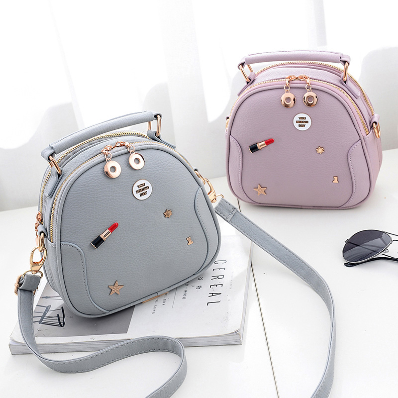 Summer Women's Bag Handbags 2017 Fashion Badge Shoulder Bags Small Square Package Women Tote 6 Colors Available Bolsos Mujer
