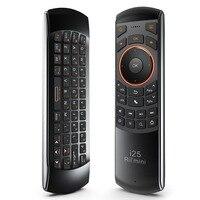 Original 3 em 1 rii i25 2.4g mini wireless mouse teclado ar com Controle Remoto IR PC Teclado Para Tablet Inteligente Caixa de TV Android