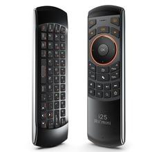 Original 3 en 1 i25 rii 2.4g mini wireless air mouse keyboard con Mando A Distancia IR PC Teclado Para Tablet Inteligente Android TV Box