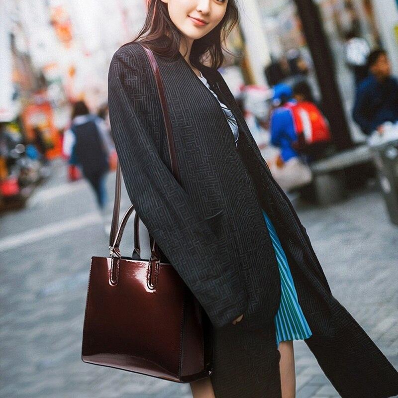 45b9854a2164 3 шт./компл. женская сумка из лакированной кожи Роскошные вечерние ...