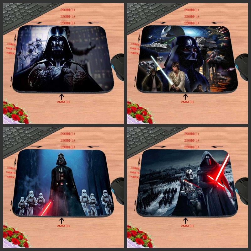 Darth vader Hot Sell Design Anti-slip Durable New Arrival Customized Rectangular Mouse Pad Computer PC Nice Gaming As Gift