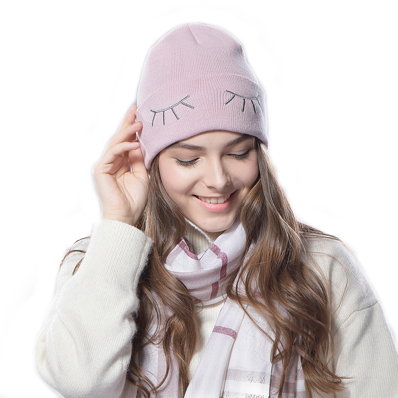 FURTALK Knited beanie hat for women
