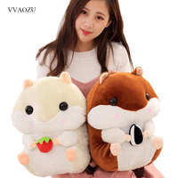 Cartoon Hamster Plush Backpack Cute Stuffed Shoulder Bag For Kids Toy School Bag Gift 40 20CM