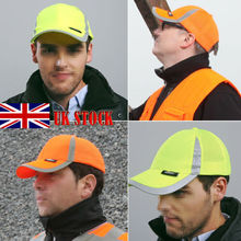 Men Hi Vis Protective Bump Cap Baseball Style Hard Hat Safety Workwear UK бюстгальтер vis a vis цвет розовый bf0868p размер 70c