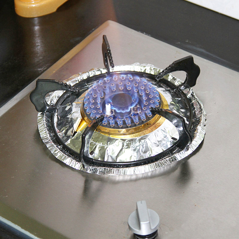 how to clean aluminium stove surface