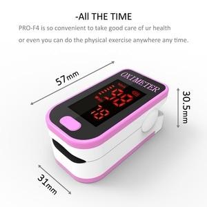 Image 4 - PR+MISE F4 cutepink Finger Pulse Oximeter,Heart Beat At 1 Min Heart Rate Blood Oxygen SPO2 CE Approval