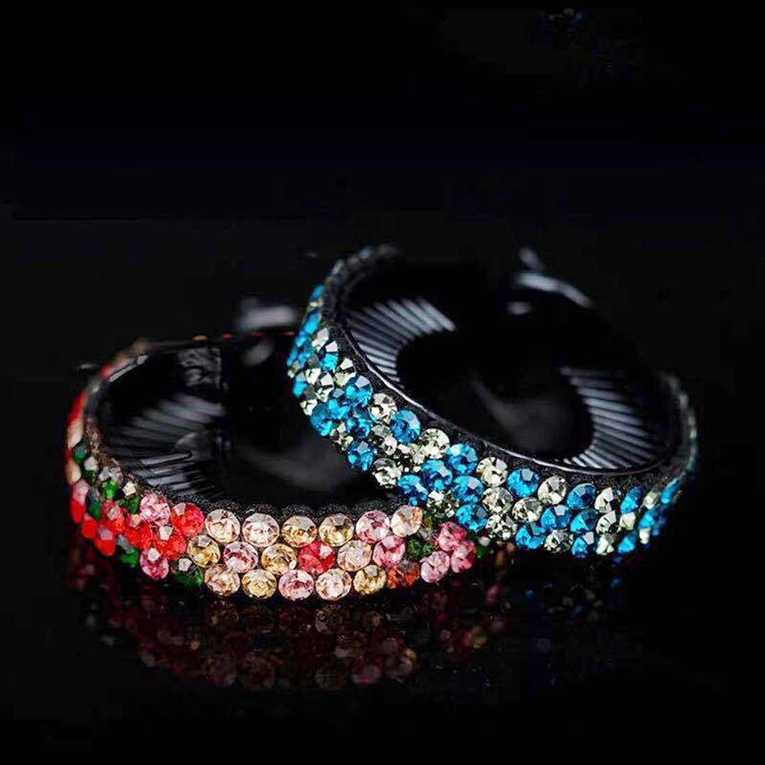 Fashion Flower Hair Claws Hair Accessories for Women Girls Rhinestone Hairpin Bird Nest Floral Twist Antique Hair Clip in Women 39 s Hair Accessories from Apparel Accessories
