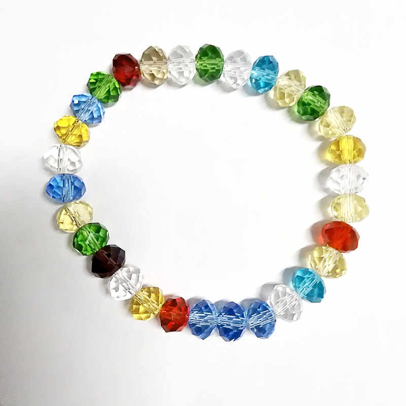2018 new colors Crystal Fashion Bracelet  Shiny Jewelry For Women Girls Gift 12 colours available free shipping