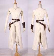 New Star Wars Rey Cosplay Costume The Force Awakens Cosplay Adult Costumes for Halloween Carnival Costumes for Women Customize kids cosplay star wars the force awakens imperial stormtrooper role playing costumes uniforms performance performance clothing