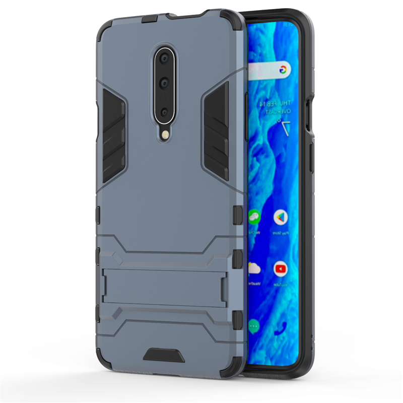 sFor Oneplus 7 Pro Case Luxury Rubber Robot Armor Capa Hard Back Phone Case For Oneplus 7 Pro Cover For Oneplus 7 Pro Case in Fitted Cases from Cellphones Telecommunications