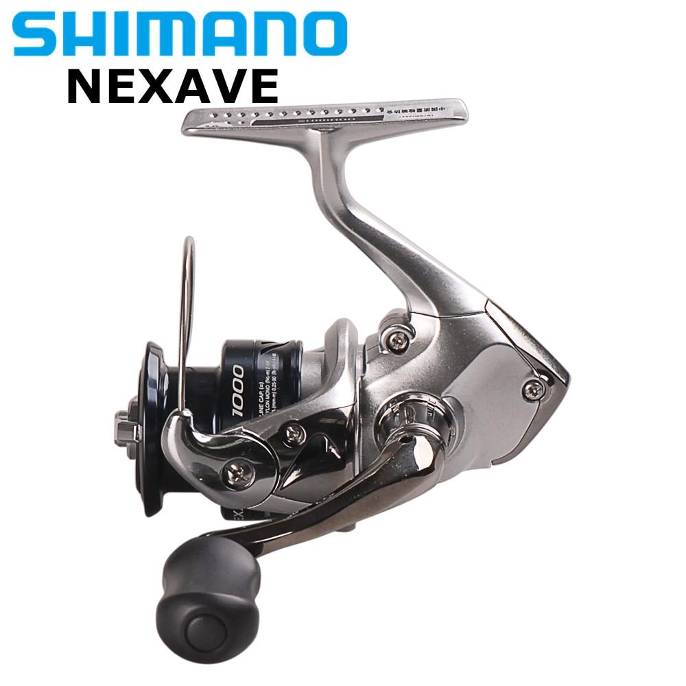 2018 Original SHIMANO NEXAVE 1000 2500HG C3000HG 4000HG C5000HG 5.2:1/5.8:1/6.2:1 4BB Saltwater Carp Fishing Reel Pesca Peche