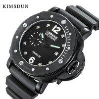 Для мужчин s часы Лидирующий бренд Роскошные мужские часы 2019 KIMSDUN часы световой водостойкие Кварцевые спортивные наручные erkek коль saati