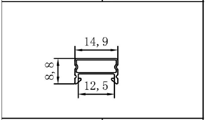 Luzes Led Bar 5 v tira conduzida rígida Comprimento : 32cm