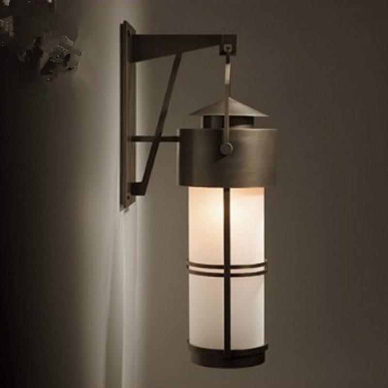 Achetez en gros mur ext rieur lanterne en ligne des for Lumiere mur exterieur