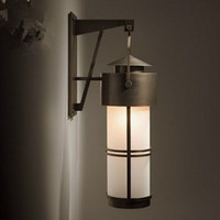 Retro Waterproof Park landscape light courtyard lantern Garden light vintage iron Wall Lamp Balcony porch Outdoor lighting E27*1