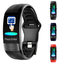 New Sports Step IP67 Waterproof USB Smart Bracelet Monitoring Blood Pressure Monitor Heart Rate Fitness Watches